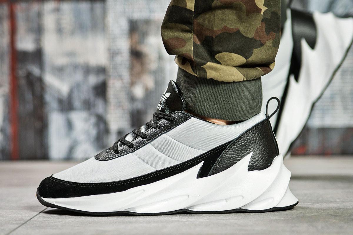 Кроссовки мужские 15604, Adidas Sharks, белые , ( в наличии 42 )