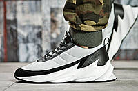Кроссовки мужские 15604, Adidas Sharks, белые , ( в наличии 42 ), фото 1