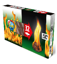 Розпалювачі вогню Hansa (32 шт.)