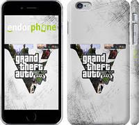"Чехол на iPhone 6 Plus GTA 5 ""629c-48"""