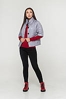 Куртка 3/4 рукав серый, фото 1