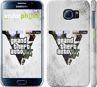 "Чехол на Samsung Galaxy S6 G920 GTA 5 ""629c-80"""