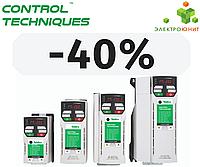 Скидка - 40% на преобразователи частоты Control Techniques серии Unidrive M200.