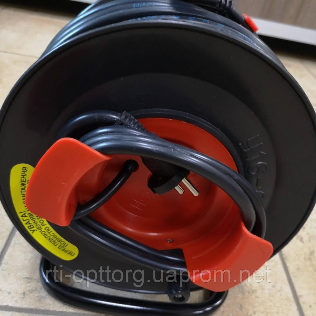 Удлинитель на катушке У16-03 ПВС 2х2,5 с выносной розеткой 40м