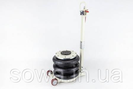 ✔️ Домкрат пневматичний Euro Craft ( 6 тонн, 400мм ), фото 2