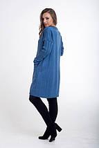 Модный вязаный женский кардиган свободного кроя (разные цвета, 46-50, PF-8467), фото 2