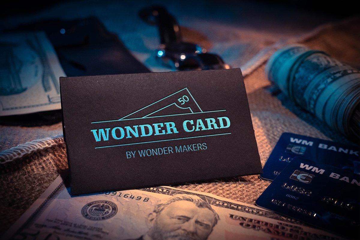 Реквизит для фокусов   Wonder Card by WonderMakers