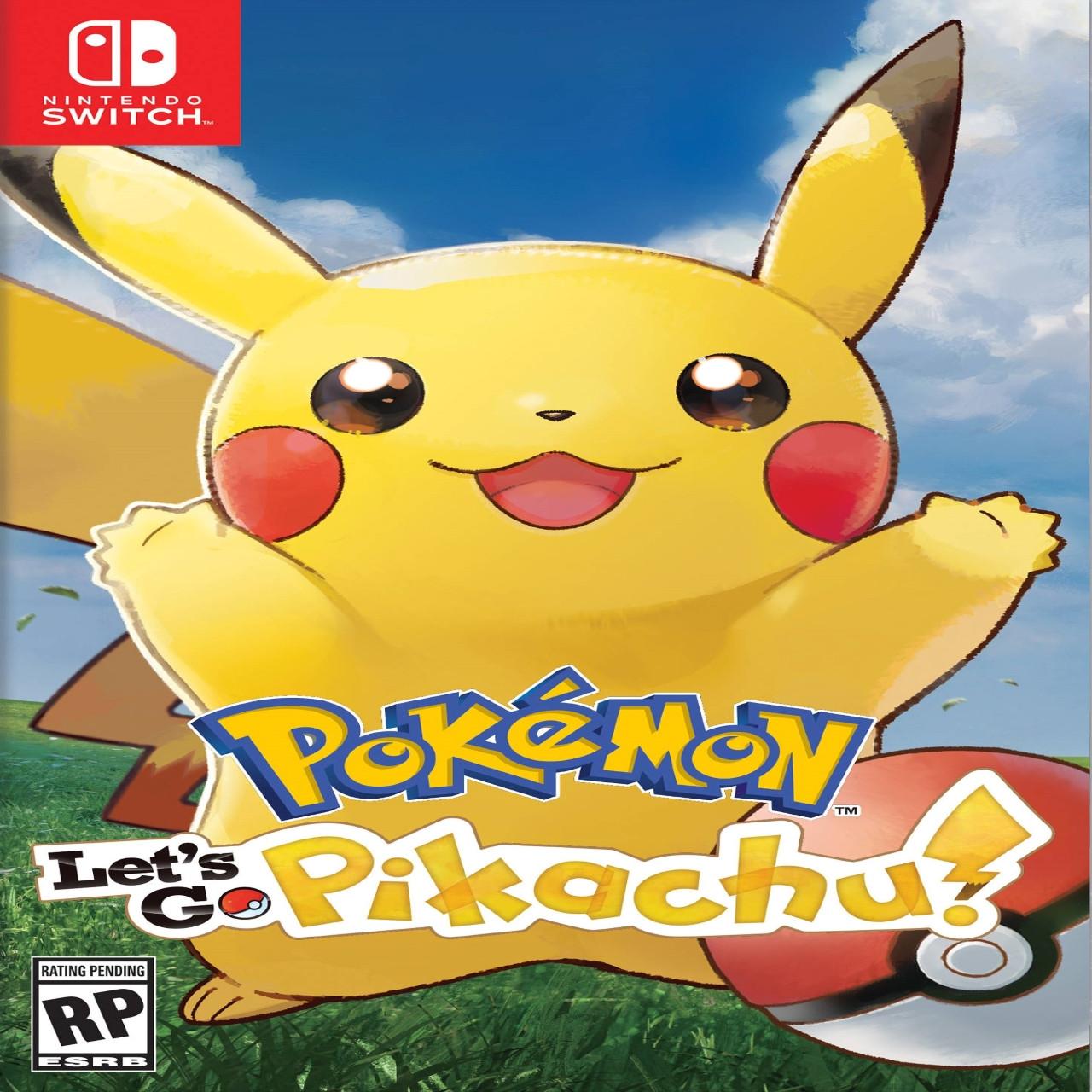 Pokémon Let's Go Pikachu  ENG Nintendo Switch (NEW)