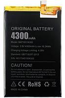 Аккумулятор Doogee Y6 Max (BAT16514300), 4300 mAh Оригинал