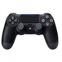 Игровой беспроводной джойстик Dualshock 4 для PS4 Реплика Черный