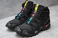 Зимние ботинки  Salomon Speedcross 3 M&S Contagrip, черные (30181) размеры в наличии ► [  41 43  ]
