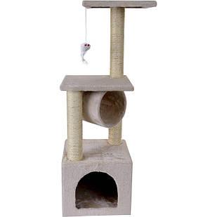 Домик-когтеточка, дряпка для котов Double