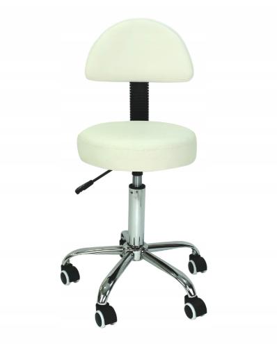 Косметический стул со спинкой