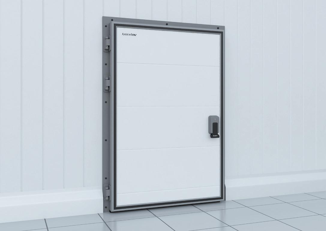 Распашные двери DoorHan IsoDoor IDH1 для холодильных камер