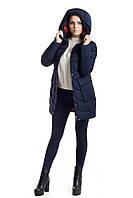 Куртка зимняя женская 018 (синий), фото 1