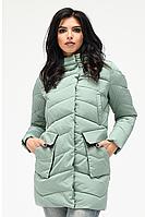 Куртка зимняя женская 018 (мята), фото 1