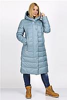 Куртка зимняя женская 8667-10 (серо-голубой), фото 1
