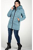 Куртка зимняя женская 819-22 (серо-голубой), фото 1