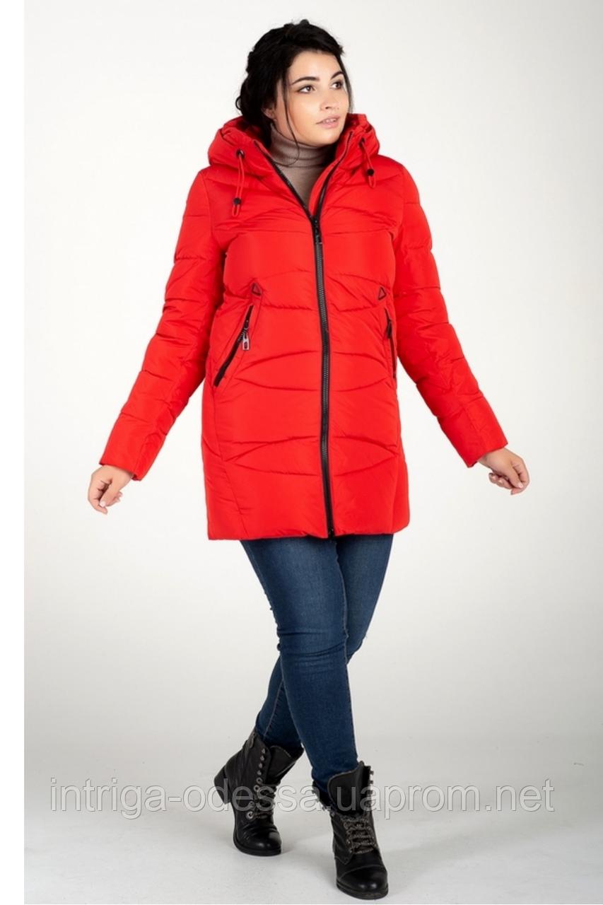 Куртка зимняя женская 819-3 (красный)