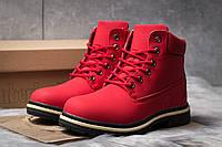 Зимние ботинки  на мехуTimberland Premium Boot, красные (30735) размеры в наличии ► [  39 40  ], фото 1