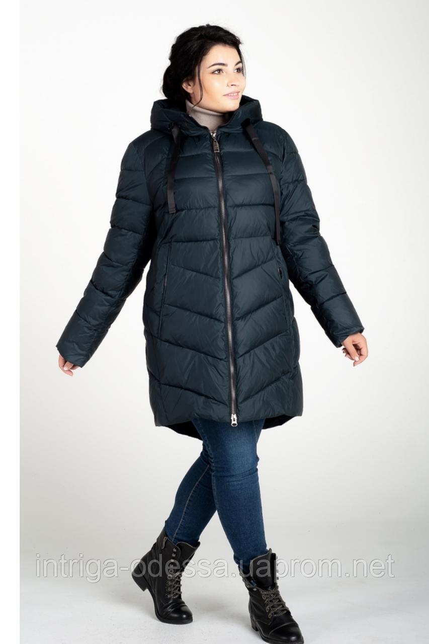 Куртка зимняя женская 207-26 (изумруд)