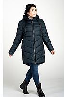 Куртка зимняя женская 207-26 (изумруд), фото 1