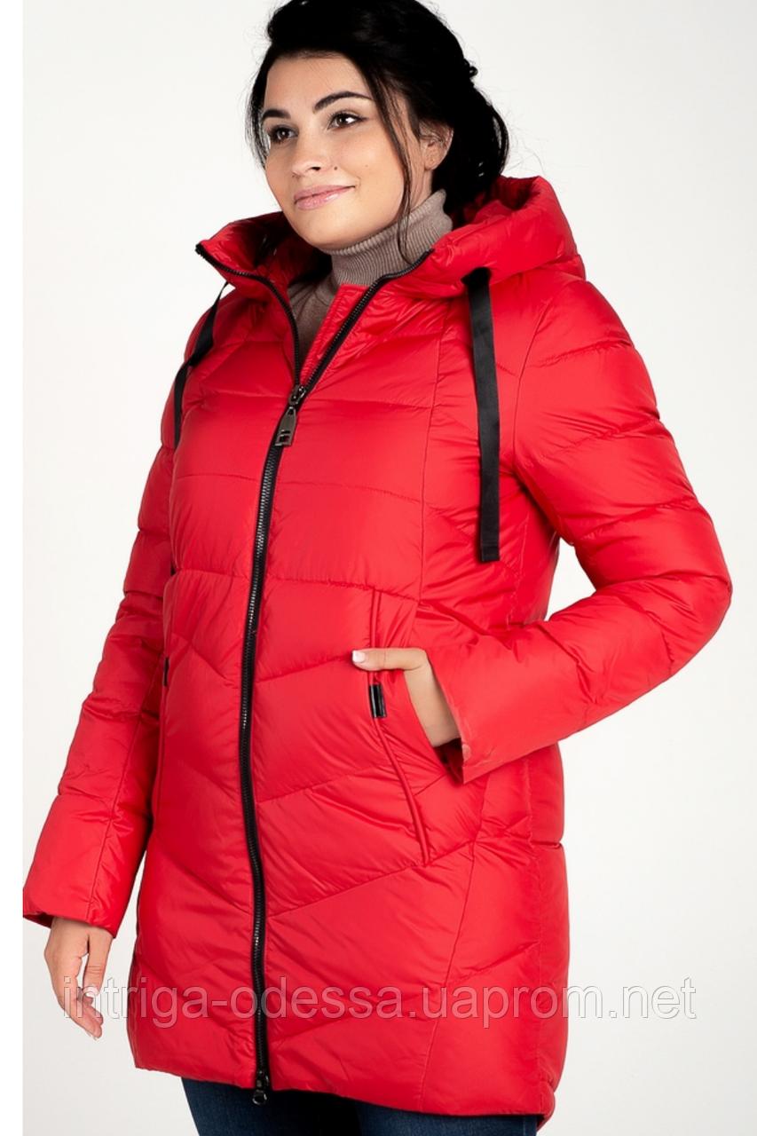 Куртка зимняя женская 207-3 (красный)