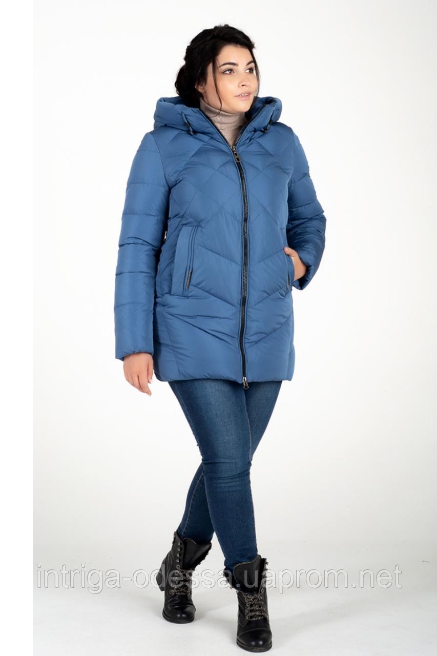 Куртка зимняя женская 228-28 (голубой)
