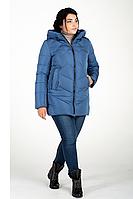 Куртка зимняя женская 228-28 (голубой), фото 1