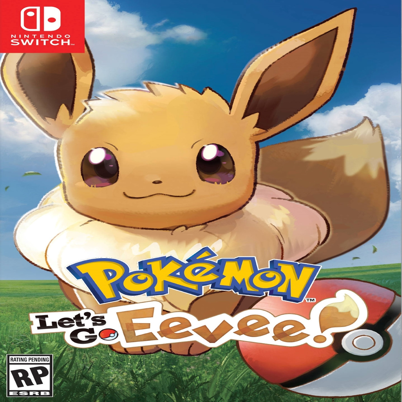 Pokemon: Let's Go, Eevee! (англійська версія) Nintendo Switch