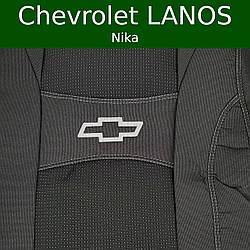 """Чехлы на сиденья Chevrolet Lanos ( Шевролет Ланос ) """"Nika"""""""