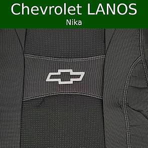 Чехлы на сиденья Chevrolet Lanos (Nika)