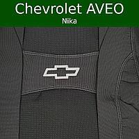 """Чехлы на Шевроле Авео (седан) 2002-2011 / чехлы на сиденья Chevrolet Aveo """"Nika"""""""