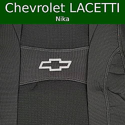 """Чехлы на Шевролет Лачетти (седан) 2003- / автомобильные чехлы Chevrolet Lacetti """"Nika"""""""
