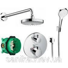 Вбудована душова система Hansgrohe Croma Select S