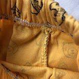 Желтый костюм, комплект на мальчика Miniworld 70. Размер 68 см. 74 см, фото 5