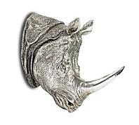 Декор настенный - носорог