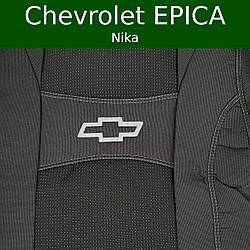 """Чехлы на Шевроле Эпика 2006-2012 / чехлы на сиденья Chevrolet Epica """"Nika"""""""