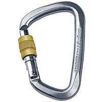 Карабин Singing Rock D Steel Lock Screw Gate 50kN