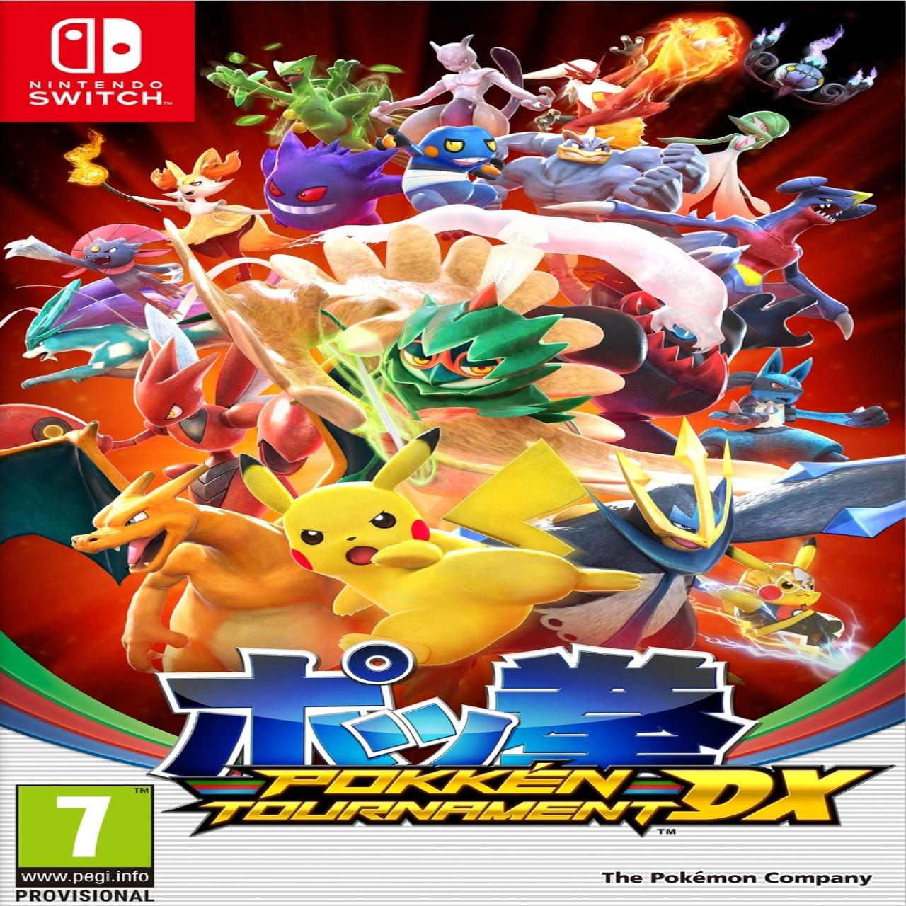 Pokken Tournament DX (англійська версія) Nintendo Switch