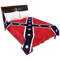 Флисовое покрывало Флаг Конфедерации, фото 1