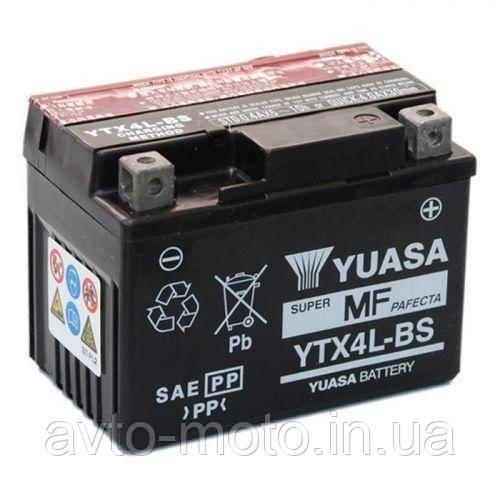 Мото акумулятор Yuasa 3 Ah/12V MF VRLA Battery AGM