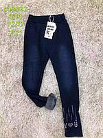 Лосины утепленные для девочек оптом, S&D, 134-164 см,  № CH-6032