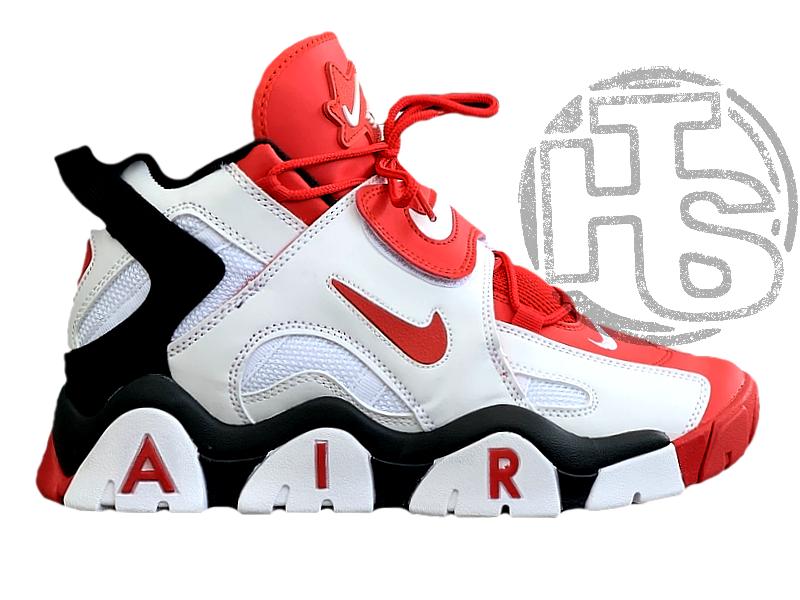Мужские кроссовки Nike Air Barrage Mid Quickstrike Black White Red CD9329-005