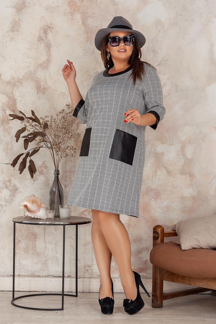 Женское модное платье  НВ495А (бат)
