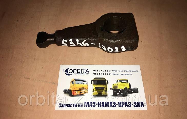 5336-1702225 Рычаг механизма переключения КПП МАЗ (флажок) (Беларусь)