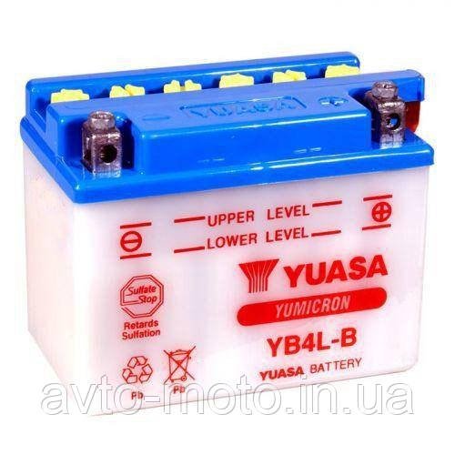 Мото акумулятор Yuasa 4.2 Ah/12V YuMicron Battery (сухозаряжений)
