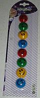 Набор магнитов 18 мм со смайлами
