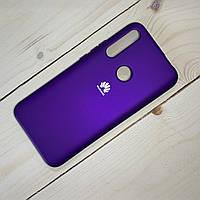 Силиконовый чехол Silicon Case Huawei P Smart Z (2019) Фиолетовый