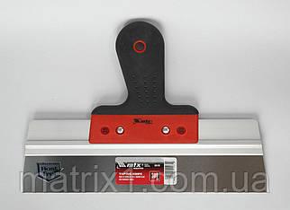 Шпатель фасадный из нержавеющей стали, 300 мм, 2-комп. ручка// MTX Польша